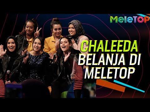 Chaleeda belanja nyanyian di MeleTOP | Nabil | Khai Bahar | Siti Nordiana