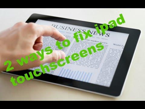 2 WAYS TO FIX IPAD TOUCHSCREEN NOT RESPONDING - WORKING