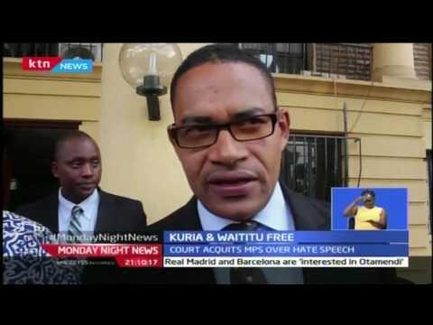 Monday Night News Full Bulletin with Sophia Wanuna - 20/2/2017