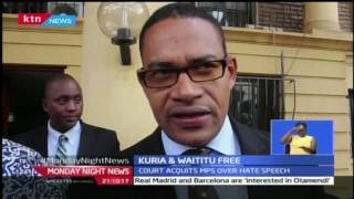 Monday Night News Full Bulletin with Sophia Wanuna - 20/2/2017