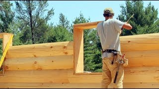 2019 New Log Home Construction Video Series