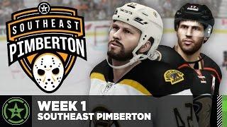Achievement Hunter Hockey League: Week 1 – Southeast Pimberton Division