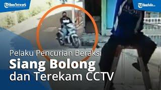 Fakta-fakta Pencurian Vario di Banjarsari Solo, Pelaku Beraksi Siang Bolong dan Terekam CCTV