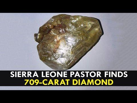 pastor finds 709-carat diamond