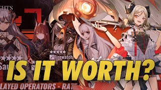 Franka  - (Arknights) - You need 180 certs A$AP! Saria, Ifrit, Platinum, Firewatch, and Franka Banner | Arknights