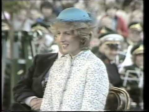 Prince and Princess of Wales & Bendigo Easter Parade – 1983