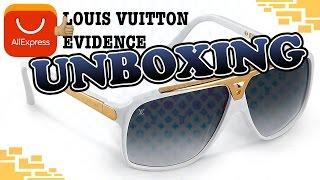 [2016] ALIEXPRESS UNBOXING #1 - Louis Vuitton Evidence Sonnenbrille (weiß) [German] [Deutsch]