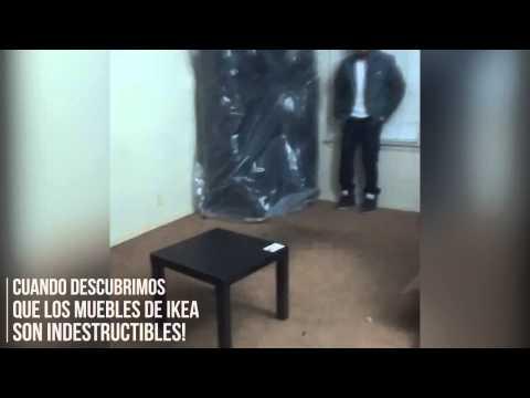 hqdefault - Cuando descubres que los muebles de Ikea son indestructibles