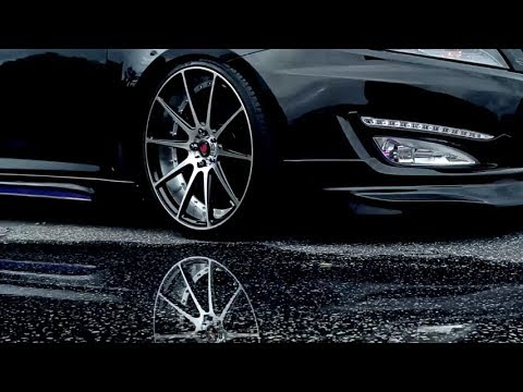 Axe EX 16's Wheels on Kia Optima