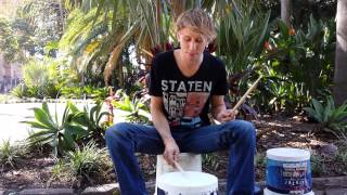 Bucket Drums - Lesson!
