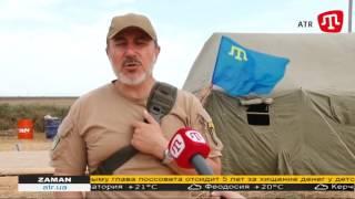 Ленур Ислямов о видеофиксации на всех постах пропуска в Крым ZAMAN 01.10.15