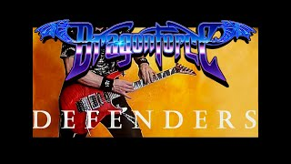 Dragonforce Defenders Guitar Cover on Backing Track