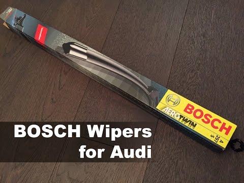 [DIY] Audi Q5, A4, A5/S5 Bosch Wiper Blade Replacement