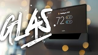 The Most Beautiful Thermostat of 2019? // GLAS Thermostat Review