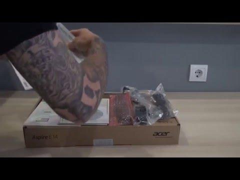 Acer Aspire E5-471 laptop unboxing │ kicsomagolás