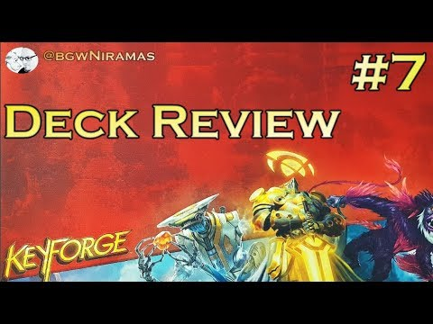Keyforge: Deck Review #7 - Let's get some help from future self!