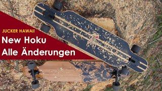 Das ist NEU beim New Hoku Longboard von JUCKER HAWAII: Mehrere Varianten & Verbesserungen | Review