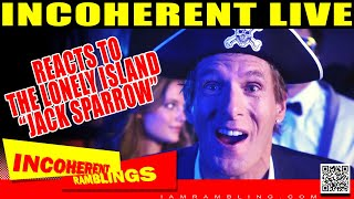 IR Reacts to The Lonely Island Jack Sparrow Live!