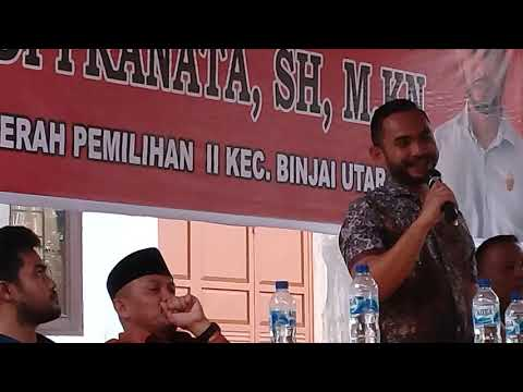 Reses Yudi Pranata Fraksi Gerindra DPRD Binjai