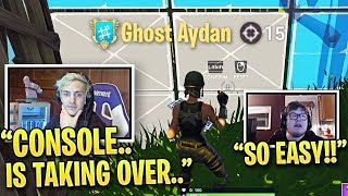 Ninja is SHOCKED When Best Console Player DESTROYS PC Players! (Fall Skirmish Week 3 Highlights)