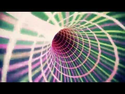 【フリー素材 / HD】 サイバー空間・デジタルトンネルを疾走する CGアニメーション素材  1080p 60fps エフェクト After Effects AE アフターエフェクト