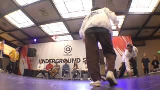 クラコットマスカルポーネ 北海道学園大学 vs Death Gorilla Volcano Family 熊本大学 BEST16 RIZE DANCE ALIVE HERO