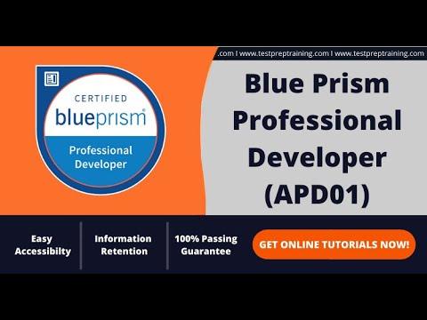 How to prepare for Blue Prism Professional Developer (APD01) Exam