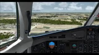 P3D V4 5] Manchester to Madrid (EGCC-LEMD) | 737-800