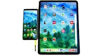 Why Galaxy Note 9 is better than 2018 iPad Pro?