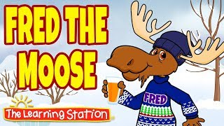 Fred the Moose Song ♫ Brain Breaks for Children ♫ Kids Repeat After Me Songs by The Learning Station