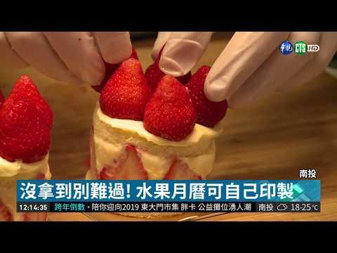 農糧署水果月曆超搶手 可免費下載  華視新聞 20181227