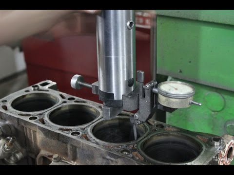 Капитальный ремонт двигателя как это должно быть. Расточка. Шлифовка. Хонингование. Гильзовка.
