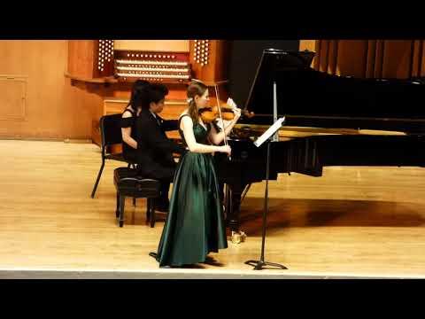 Respighi Violin Sonata--December 2017