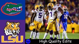 #7 Florida vs #5 LSU Highlights | NCAAF Week 7 | College Football Highlights