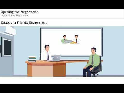 Opening the Negotiation - Skill Dynamics - YouTube
