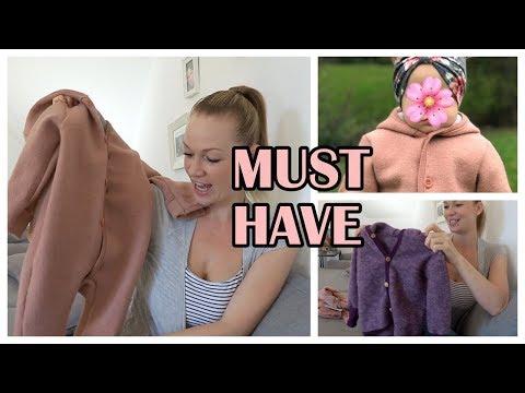 TOP und Flop Kleidung für den Herbst/Winter für Baby und Kleinkind |MUST HAVE`S | Verlosung