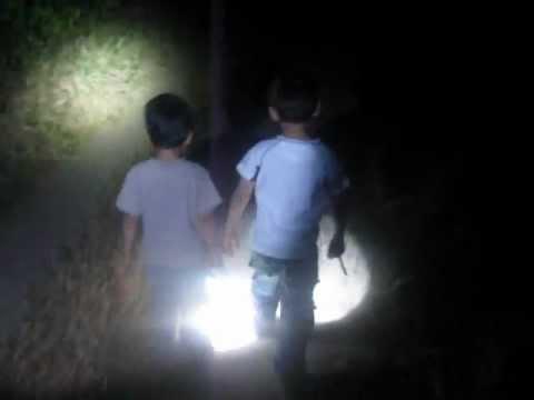 Niños Jugando con Linternas con Led Cree R5 y T6 - Tienda8.cl