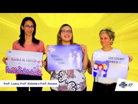CETEM - Recado Professoras Luana, Roberta e Rosane