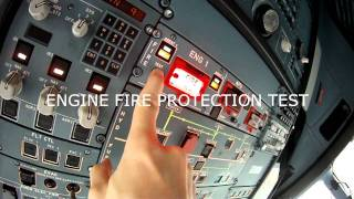 AIRBUS A32F COCKPIT PREPARATION PROCEDURE