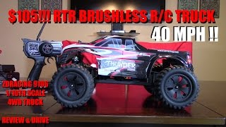 RTR 4WD Brushless ZDRACING 9106 1/10th scale R/C monster truck