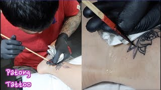 Tattooed With a Bamboo Stick in Thailand | My 3rd Tattoo