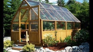 Greenhouse Plans: Watch Us Assemble A Sun Country Greenhouse Kit.