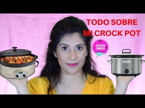 COCINA | ¡TODO SOBRE MI OLLA DE COCCIÓN LENTA! | CavesGirls Hogar |