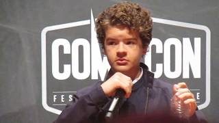 Comic Con Paris 2017 : panel Stranger Things 2 (excerpt)
