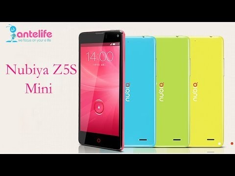 ZTE Nubia Z5S Mini Hands on, Snapdragon 600 QuadCore 4.7-inch 2GB/16GB HD Screen