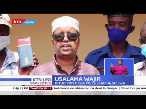 Usalamu Wajir: Kituo kipya cha polisi chafunguliwa na kuleta afueni kwa wakaazi Wajir