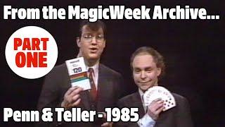 Penn and Teller Go Public - Magicians - 1985