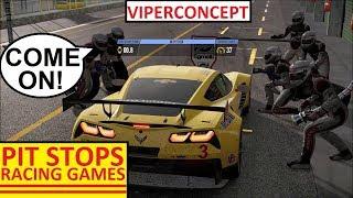Racing Games - Pitstops