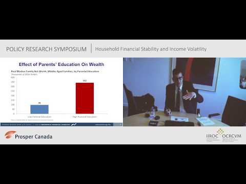 Household financial stability and income volatility