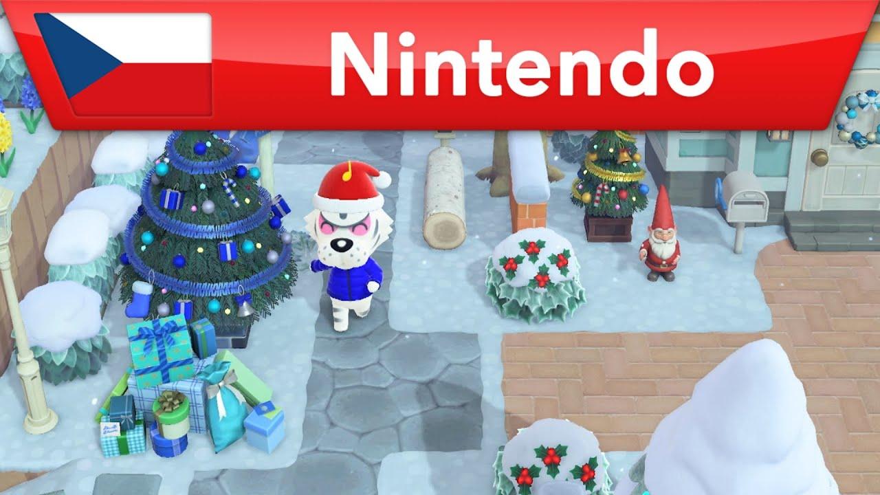 Animal Crossing: New Horizons - Vánoce jsou tady! | Nintendo Switch
